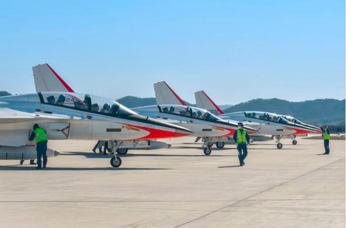 韩国光州空军第一战斗飞走团(news 1)