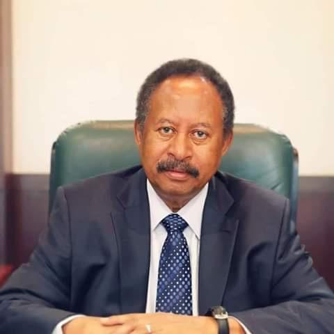 △苏丹过渡当局总理哈姆杜克(图片来源:苏丹通讯社)
