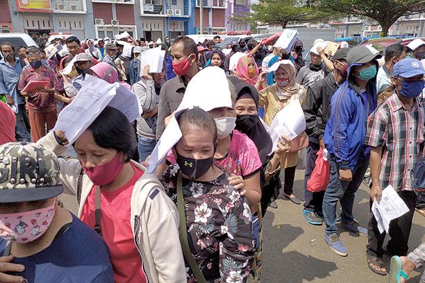 印尼新增1560例新冠肺炎确诊病例 累计109936例