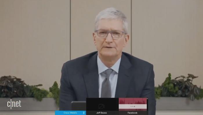 库克称苹果不会通过收购其他公司来阻止竞争
