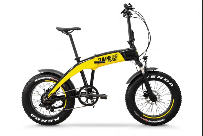 杜卡迪宣布推出三款可折叠电动自行车