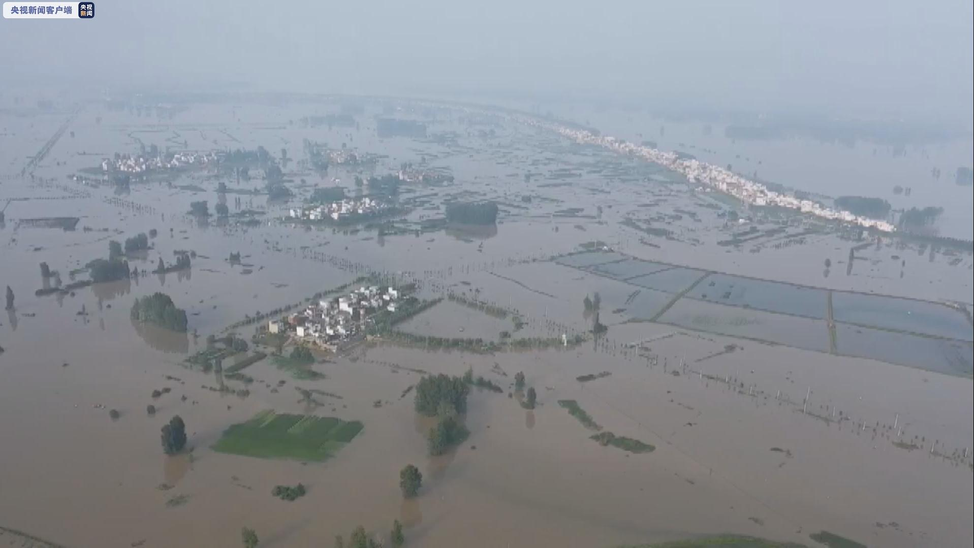 安徽强降雨已致近千万人受灾 超130万人紧急转移