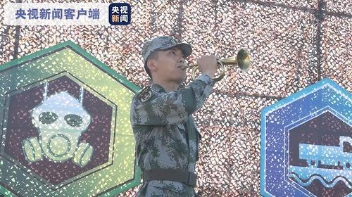 """""""国际军事比赛-2020""""中方参赛部队举行出征仪式"""