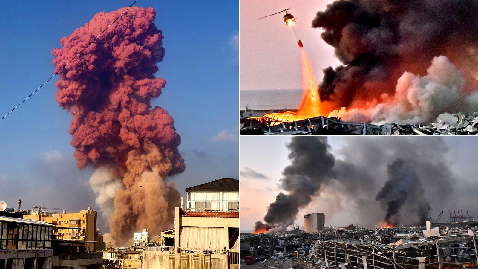 意爆破专家:贝鲁特爆炸起因不是硝酸铵 或是军用导弹