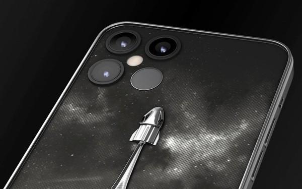 背部镶真实火箭碎片的苹果12 Pro马斯克限量版要来啦