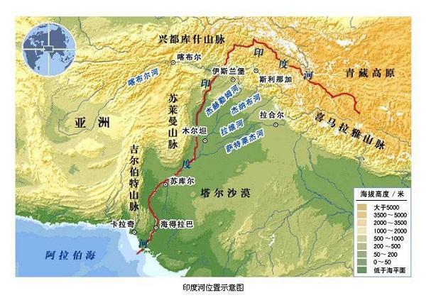 印度河流域 图片来源:原料图
