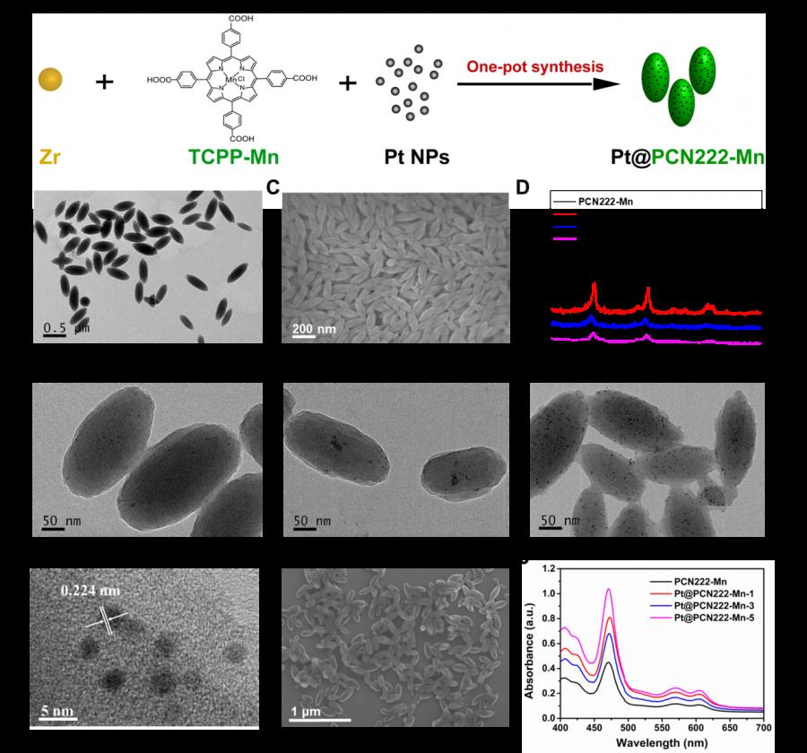 探索·收获!现代工学院魏辉课题组构筑一种具有ROS清除能力的级联MOF纳米酶用于小鼠肠炎的治疗