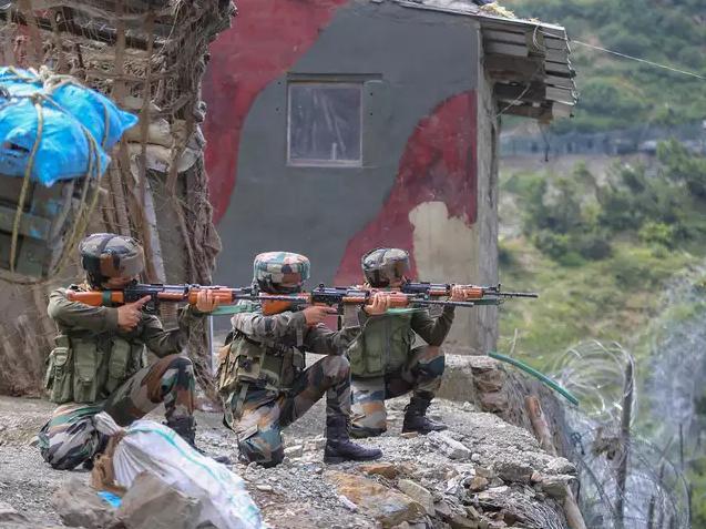 印军在巴基斯坦控制线附近首次部署女兵