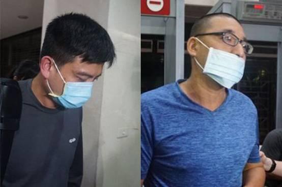 李姓中校(左)张姓上士(右)(图源:台媒)