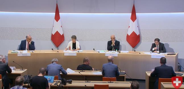 瑞士政府要求追加7.7亿瑞郎应对新冠肺炎 预计今年损失209亿瑞郎