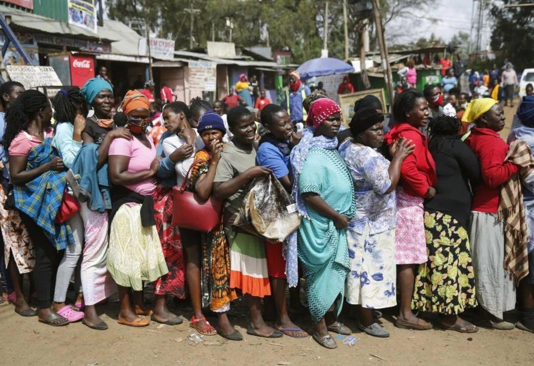 肯尼亚人口_肯尼亚zf计划在18个月内为该国三分之一人口接种新冠疫苗