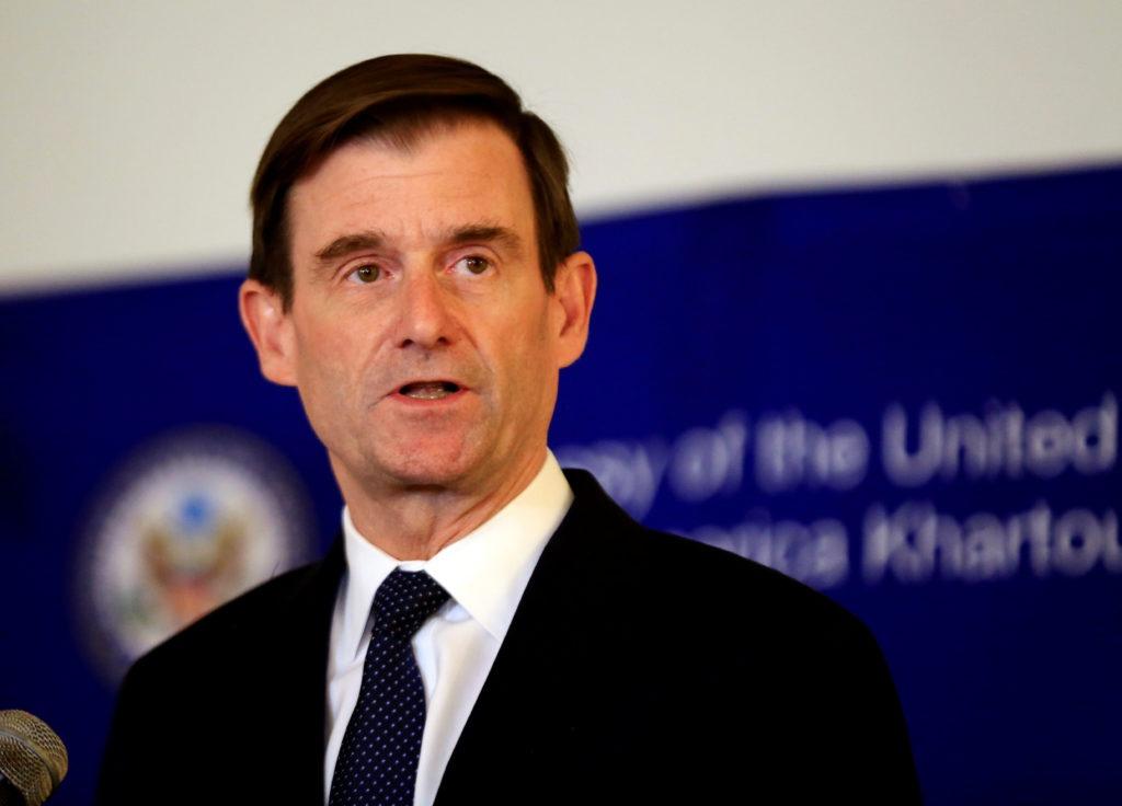 美国负责政治事务的副国务卿大卫·黑尔