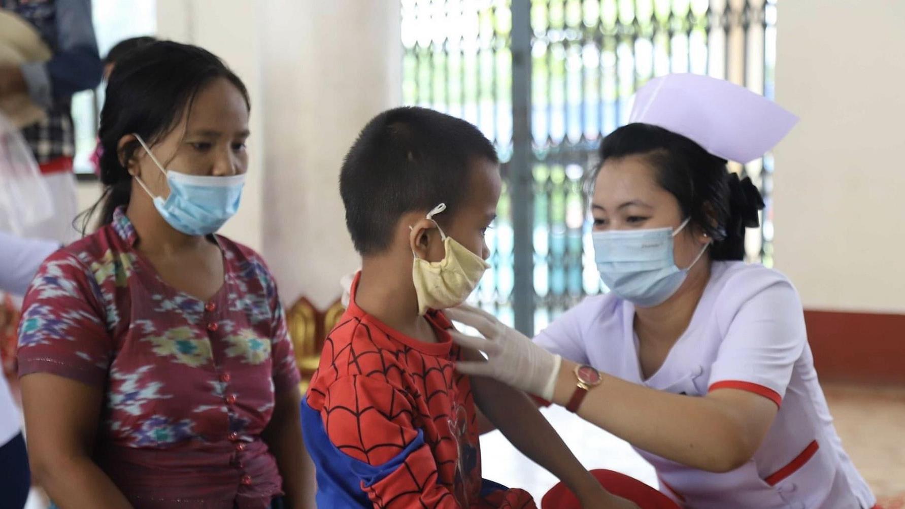 缅甸掸邦爆发白喉疫情 已致6人死亡