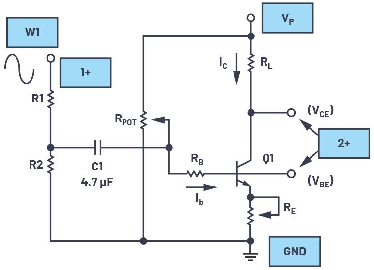图13.添加了发射极负反馈。