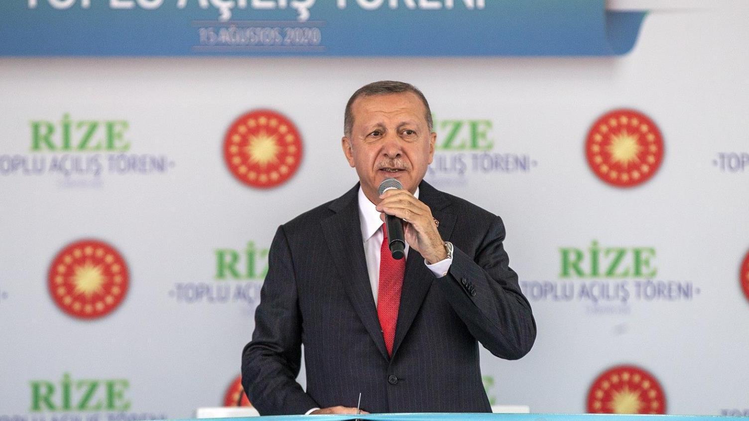 四个欧盟国度在地中海酒吧对土耳其总统做出回应:毫不屈服