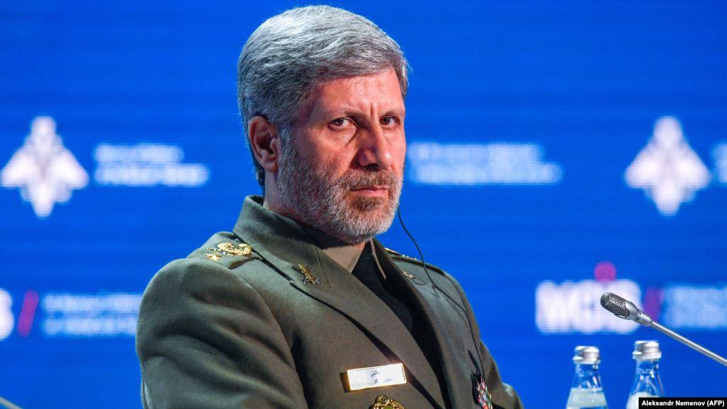 资料图:伊朗防长哈塔米。(图源:法新社)