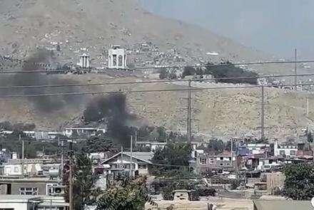 阿富汗首都喀布尔遭多枚火箭弹袭击
