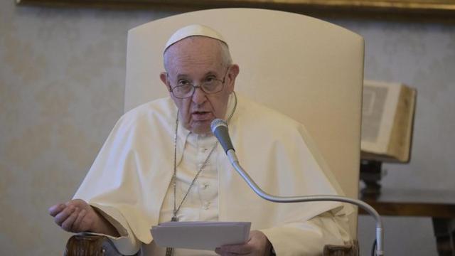 教皇方济各:不能按照贫富阶层来决定新冠疫苗接种优先次序