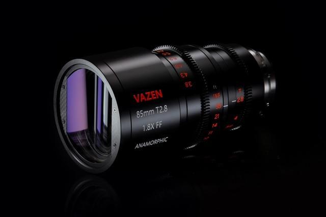 中国品牌Vazen推85mm T2.8超宽屏镜头 售价8000美元