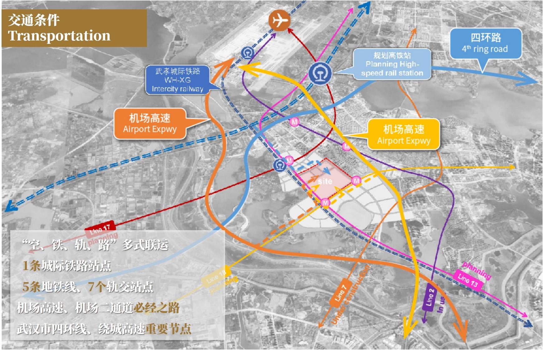 绿地控股164亿元武汉拿地:拟建426万平方米国际会展城插图(2)