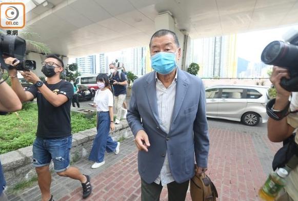黎智英刑恐记者案控罪表证成立 罪成最高可判2年