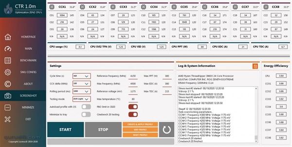 AMD锐龙超频神器公布:性能上去了、功耗反而下来了的照片 - 4