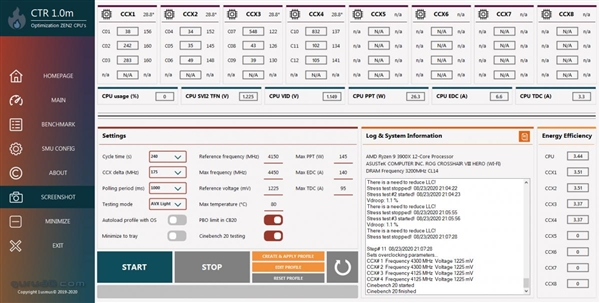 AMD锐龙超频神器公布:性能上去了、功耗反而下来了的照片 - 2
