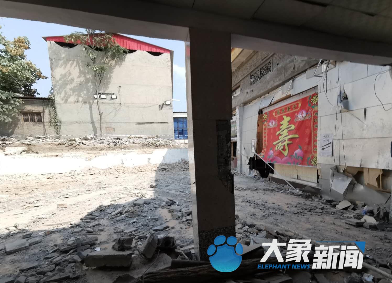 山西襄汾坍塌饭店老板亲戚:一家人都没事 老板正协助警方调查