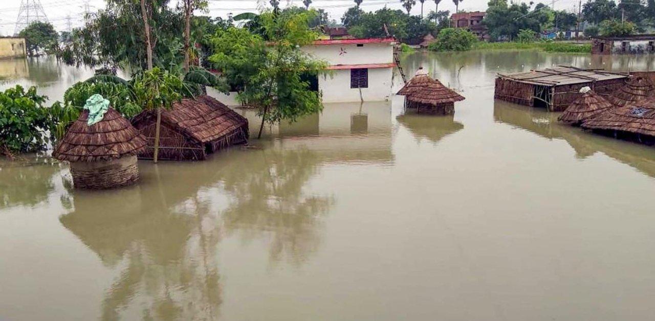 印度比哈尔邦洪水致16人丧生 636万人受灾