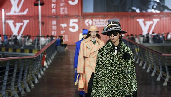 LV首次离开巴黎在沪首秀 上海已成为国际品牌的全球新品首发地