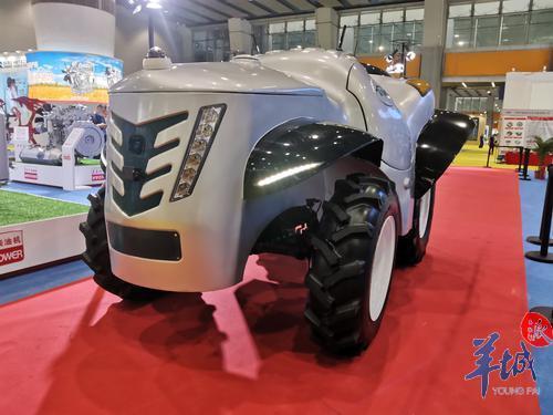 国内首台5G+氢燃料电动拖拉机参展!央企云集广州这场展会抢商机