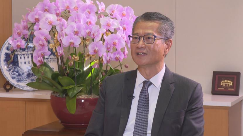 香港财政司司长:强烈谴责美国所谓的制裁 是赤裸裸的霸凌行径