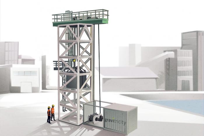 苏格兰公司Gravitricity开始建造依靠重力的能源储存系统原型机