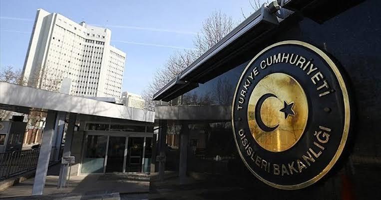△图为土耳其外交部 来自网络