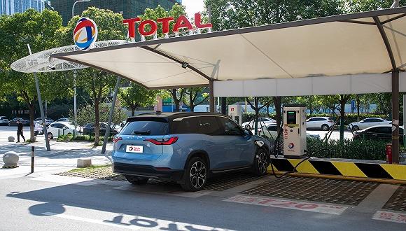 道达尔在中国武汉启动首家充电站 商业车队和私家车主均可使用
