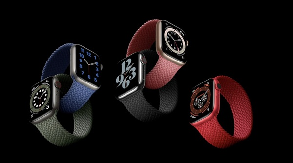 Apple Watch S6是首款配备U1超宽带芯片的智能手表
