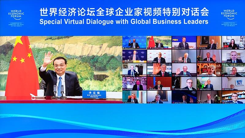 李克强:中国经济发展可以实现年度主要预期目标