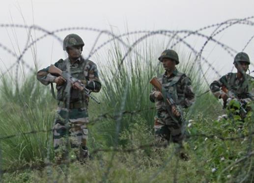 印度军队在实控线附近哨所遭炮击 致1死2伤