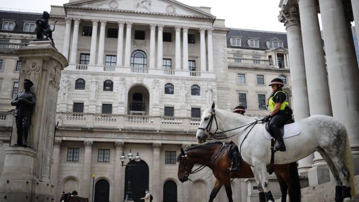 在前景高度不确定的情况下 英央行再次讨论了负利率