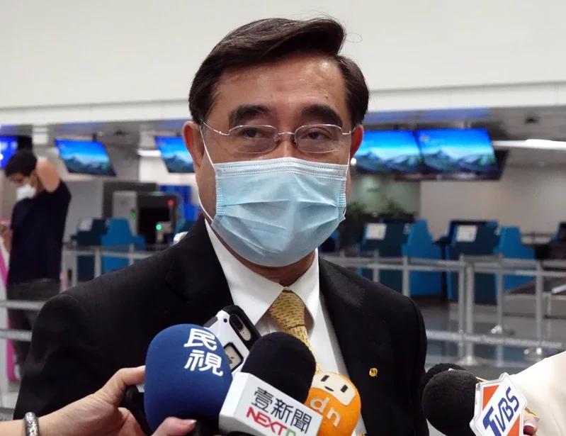 """新黨主席:排除一切障礙也要來海峽論壇,倡議讓""""一國兩制""""臺灣方案的內容協商實現圖片"""