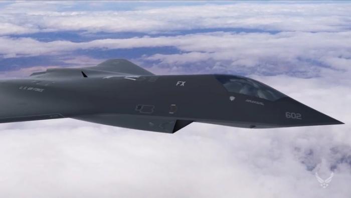 美国空军已秘密设计、制造并试飞一架新型下一代战斗机原型