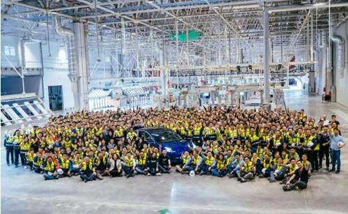 特斯拉二季度所交付电动汽车中近三分之一来自上海超级工厂