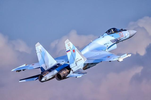 俄罗斯苏-35战斗机 资料图