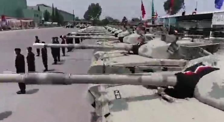 """巴基斯坦陆军获得的升级型""""哈立德""""坦克"""
