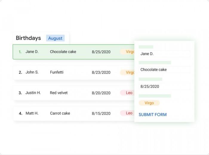 谷歌内部孵化Tables工具:提高追踪项目工作的效率