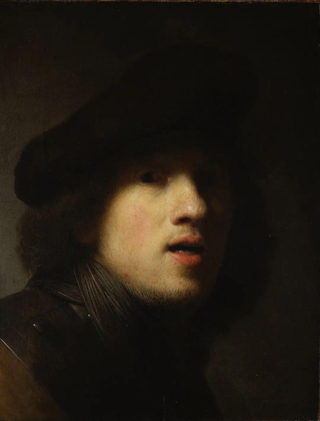 《自畫像》倫勃朗·凡·萊因