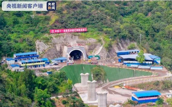 鄭萬高鐵取得重大進展 巴陽隧道順利貫通圖片
