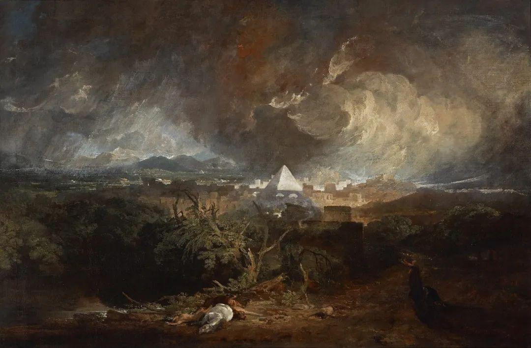 《埃及的第五次災禍》約瑟夫·馬洛德·威廉·透納
