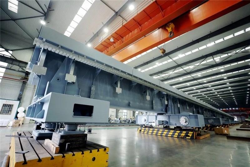 全球首组时速600公里高速磁浮道岔通过出厂验收