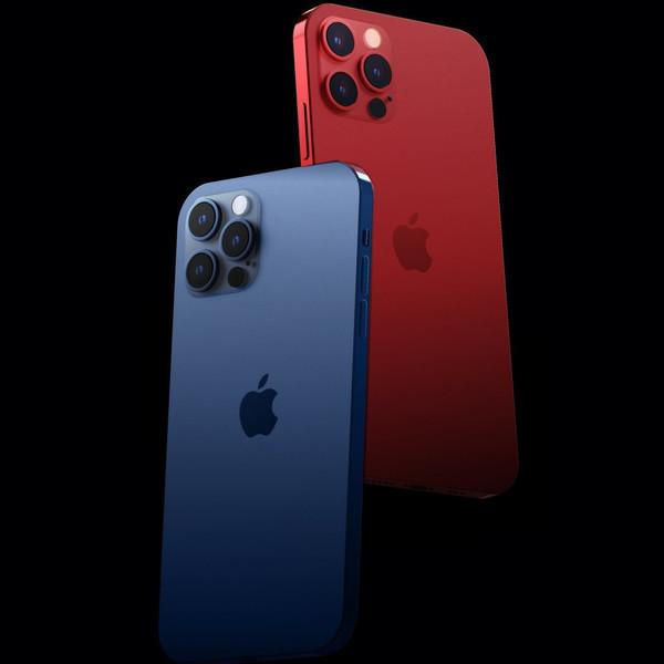 iPhone 12系列渲染图(图源网)